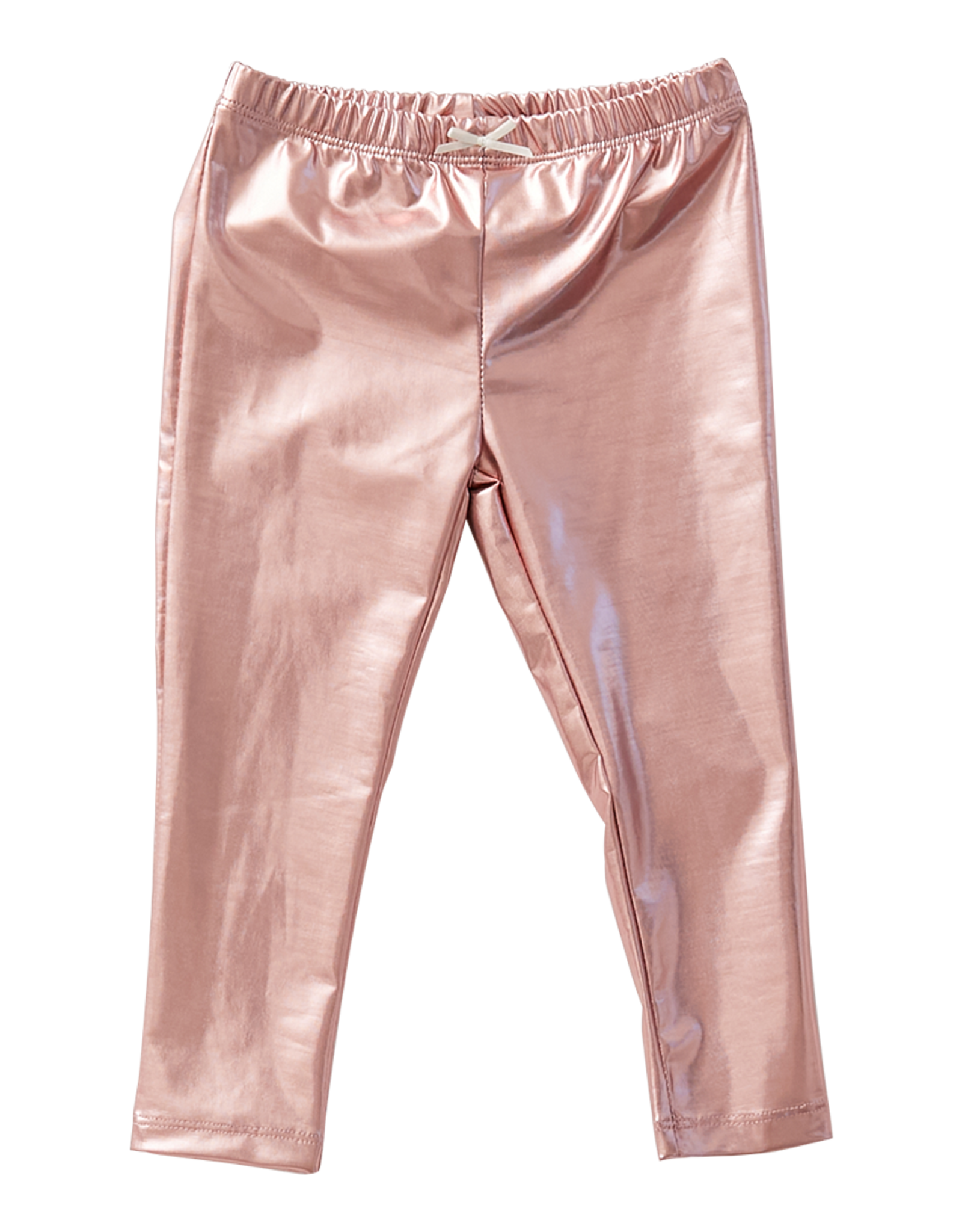 Pink Chicken lamé legging- pink