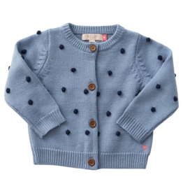 Pink Chicken maude sweater- blue