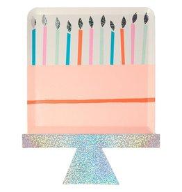 Meri Meri birthday cake plates