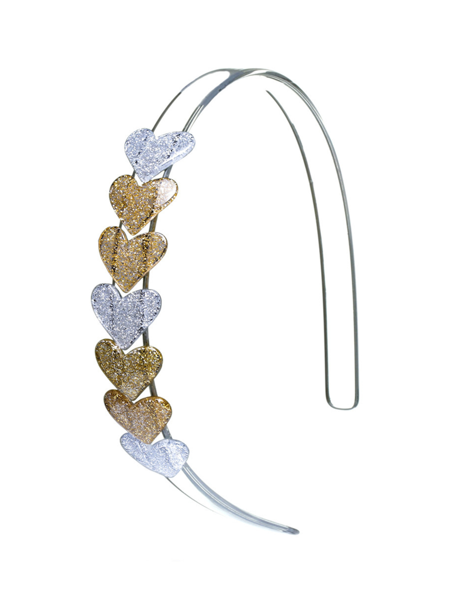 Lilies & Roses HB centipede- gold hearts