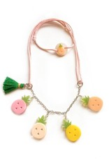 Lilies & Roses pineapples necklace