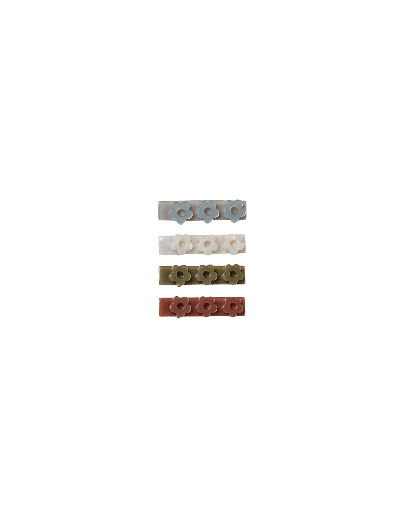 Rylee and Cru flower clips- 4 pk