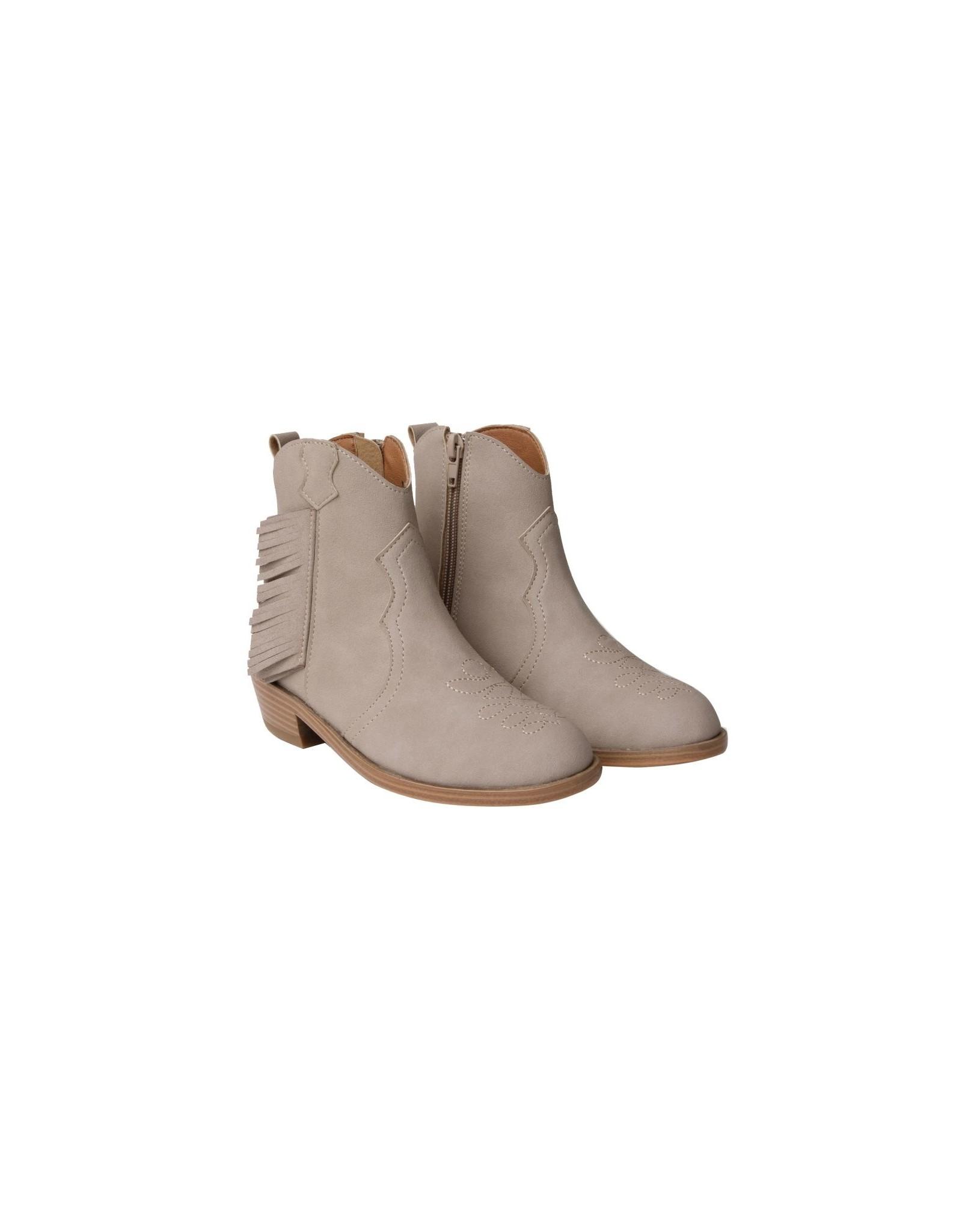 Rylee and Cru western boots- beige