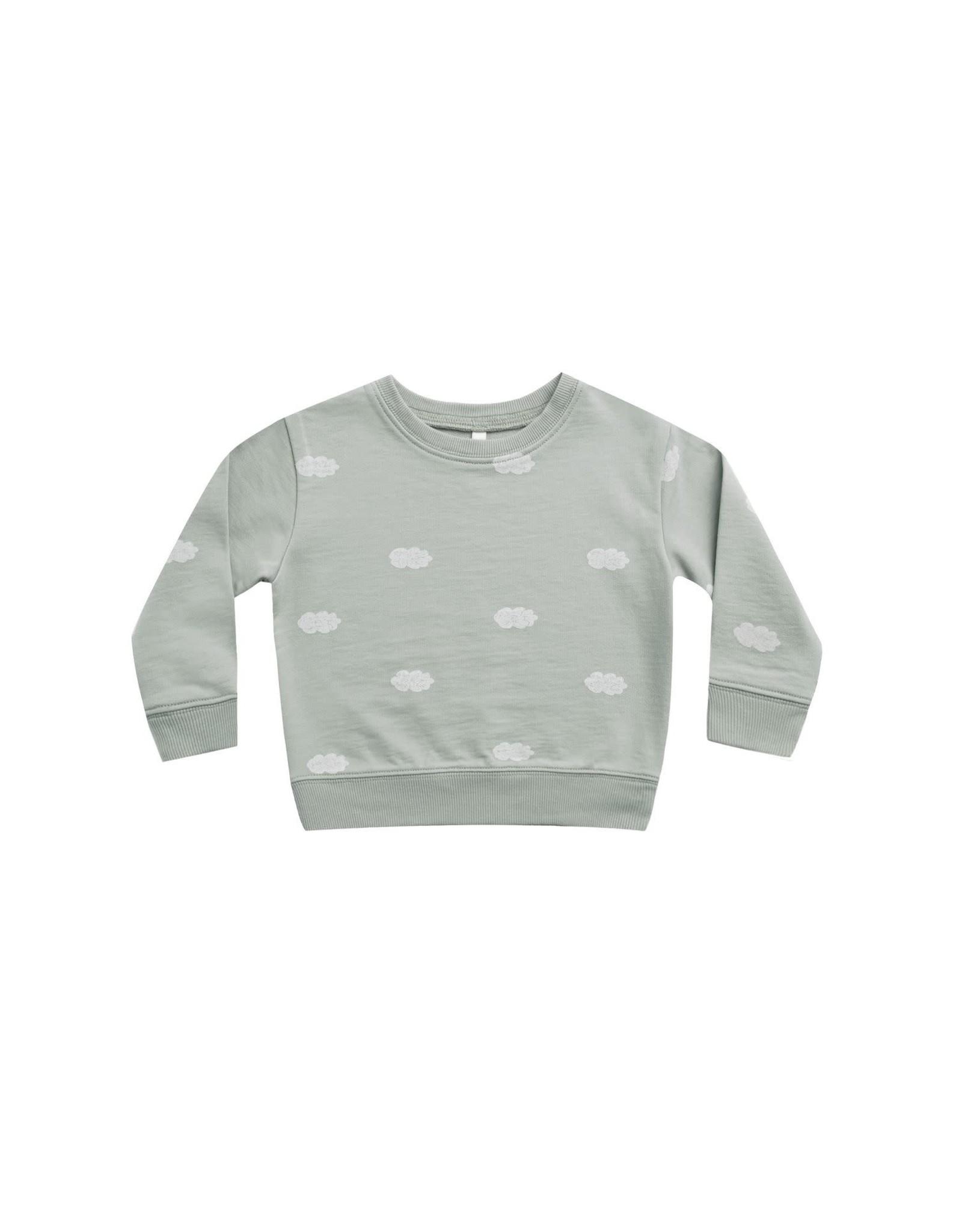 Rylee and Cru sweatshirt- clouds