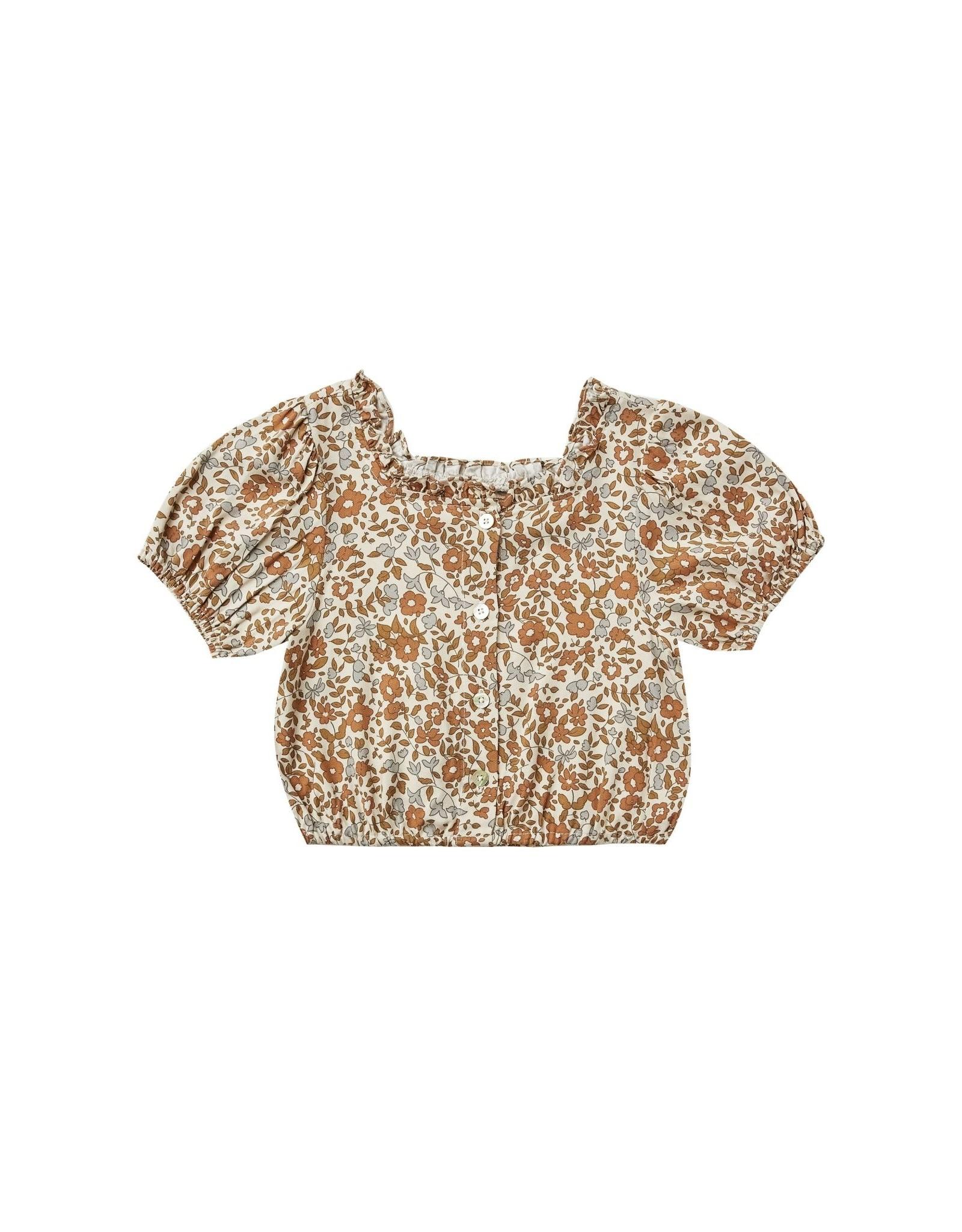 Rylee and Cru dylan blouse- bloom