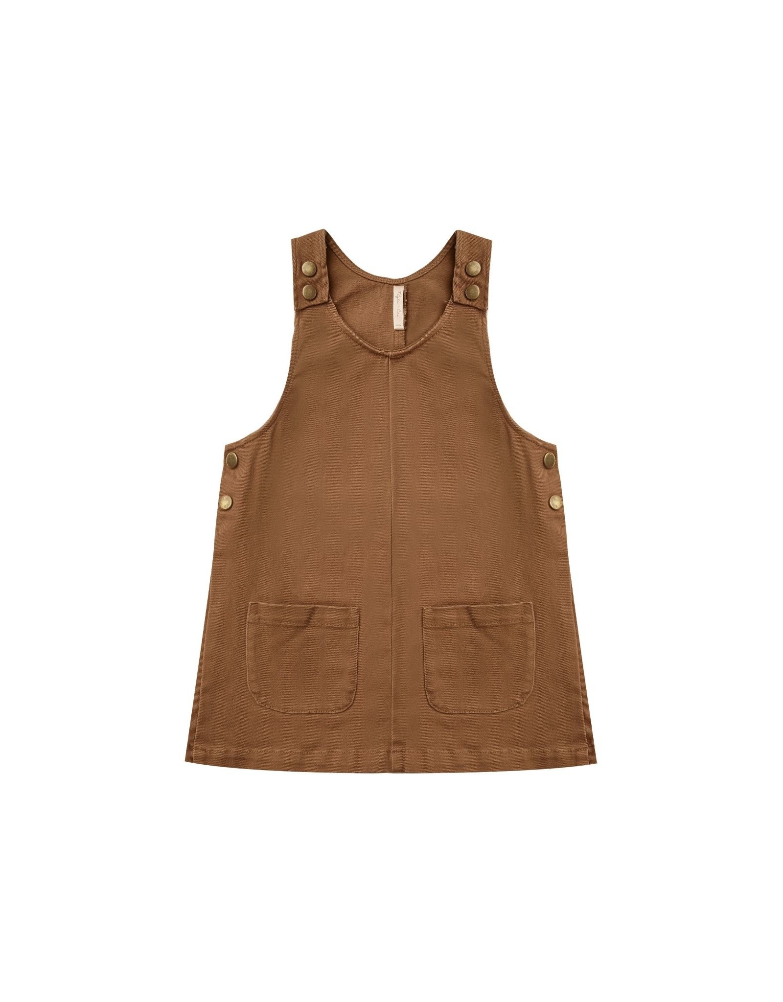 Rylee and Cru odette dress- rust