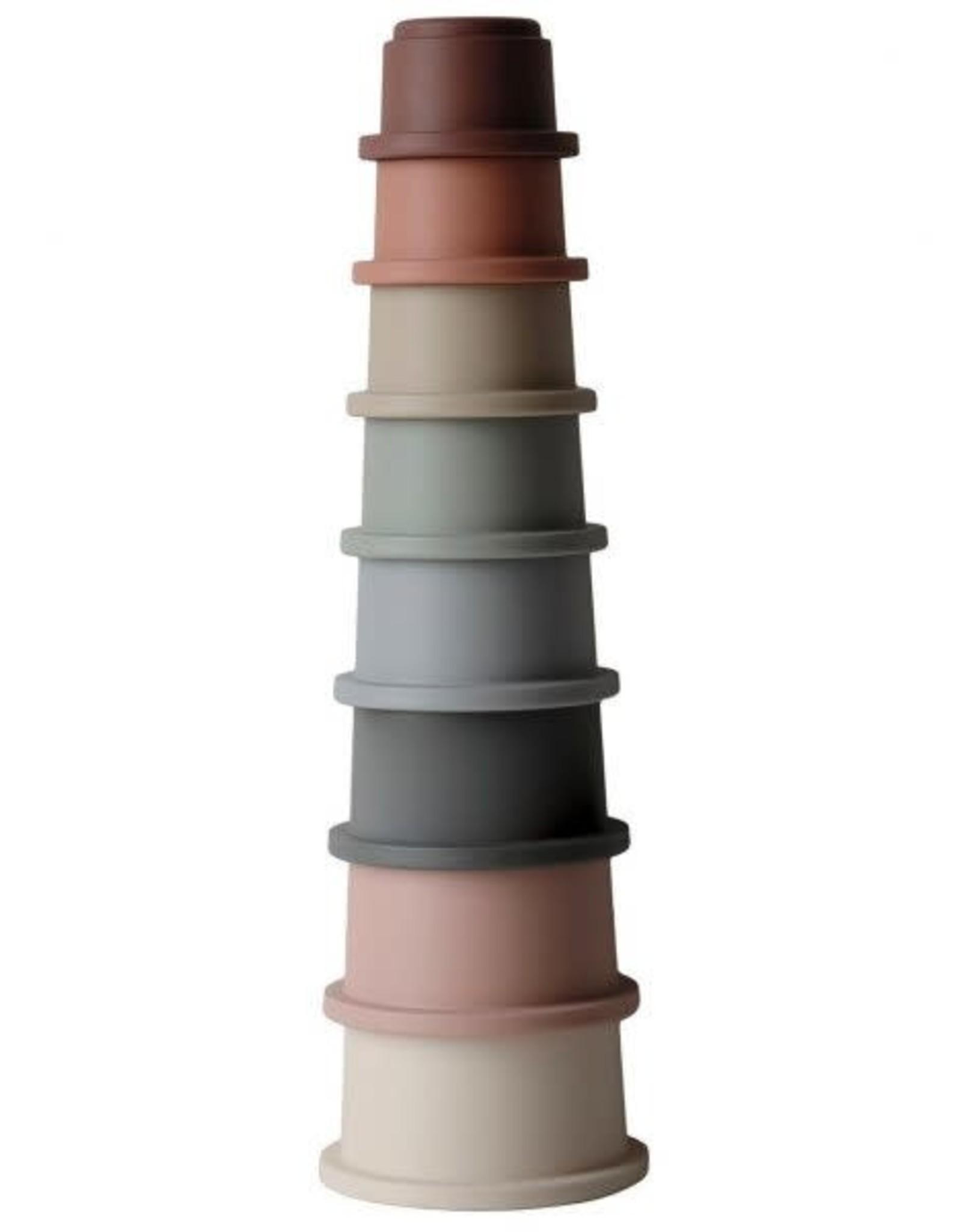 Mushie stacking cups- original