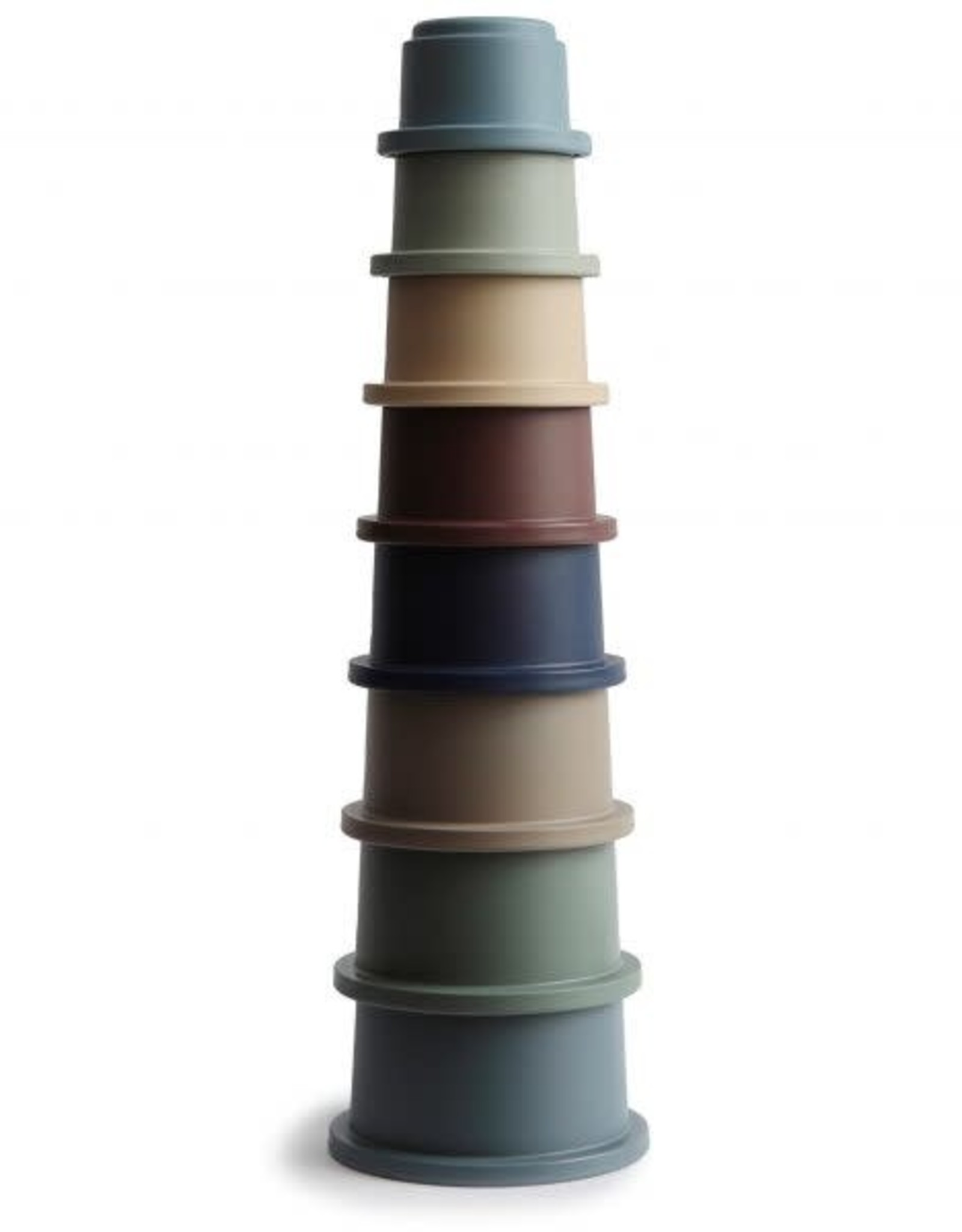 Mushie stacking cups- forest