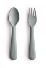 Mushie spoon/fork- sage