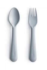Mushie spoon/fork- cloud