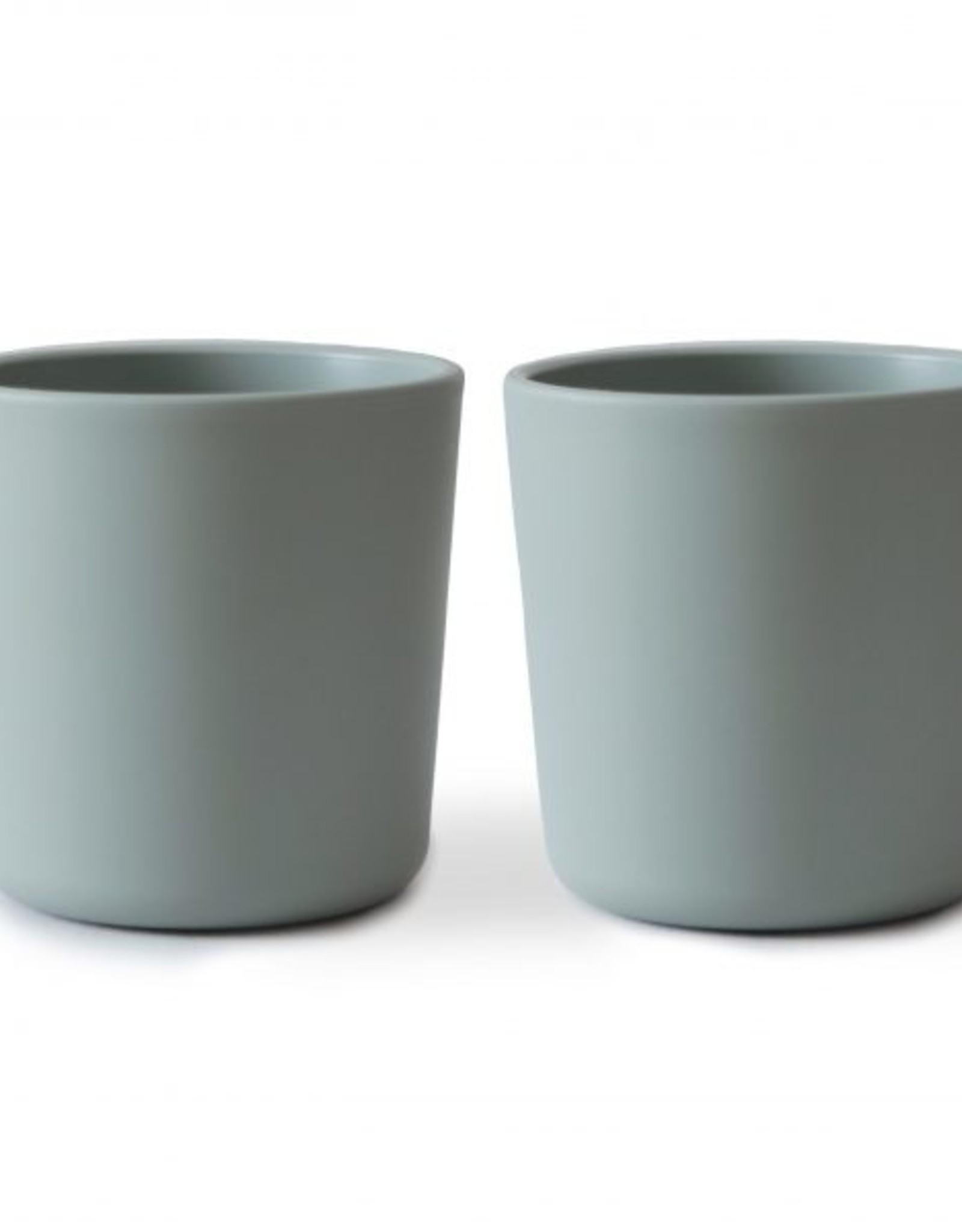 Mushie dinner cups- sage