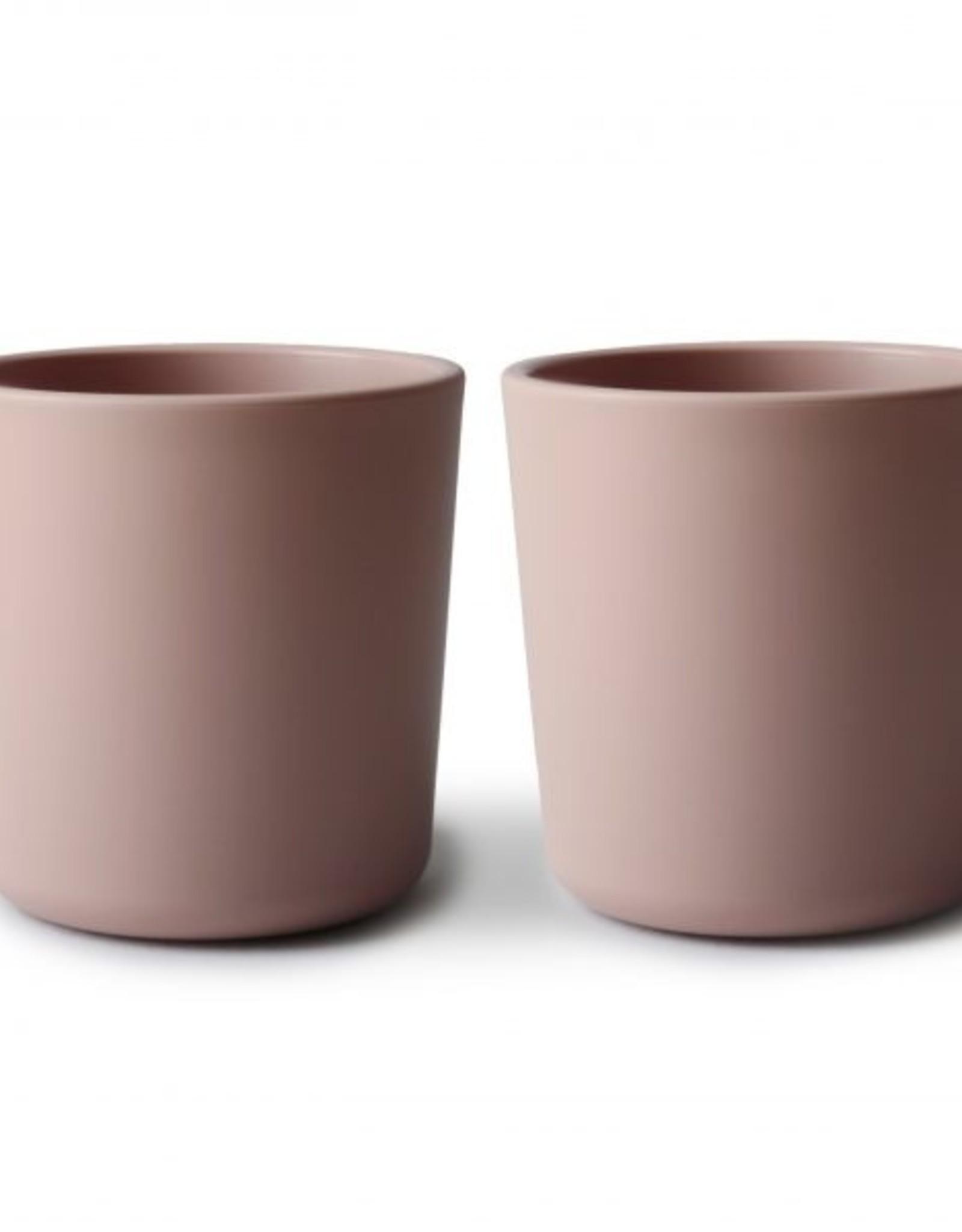 Mushie dinner cups- blush