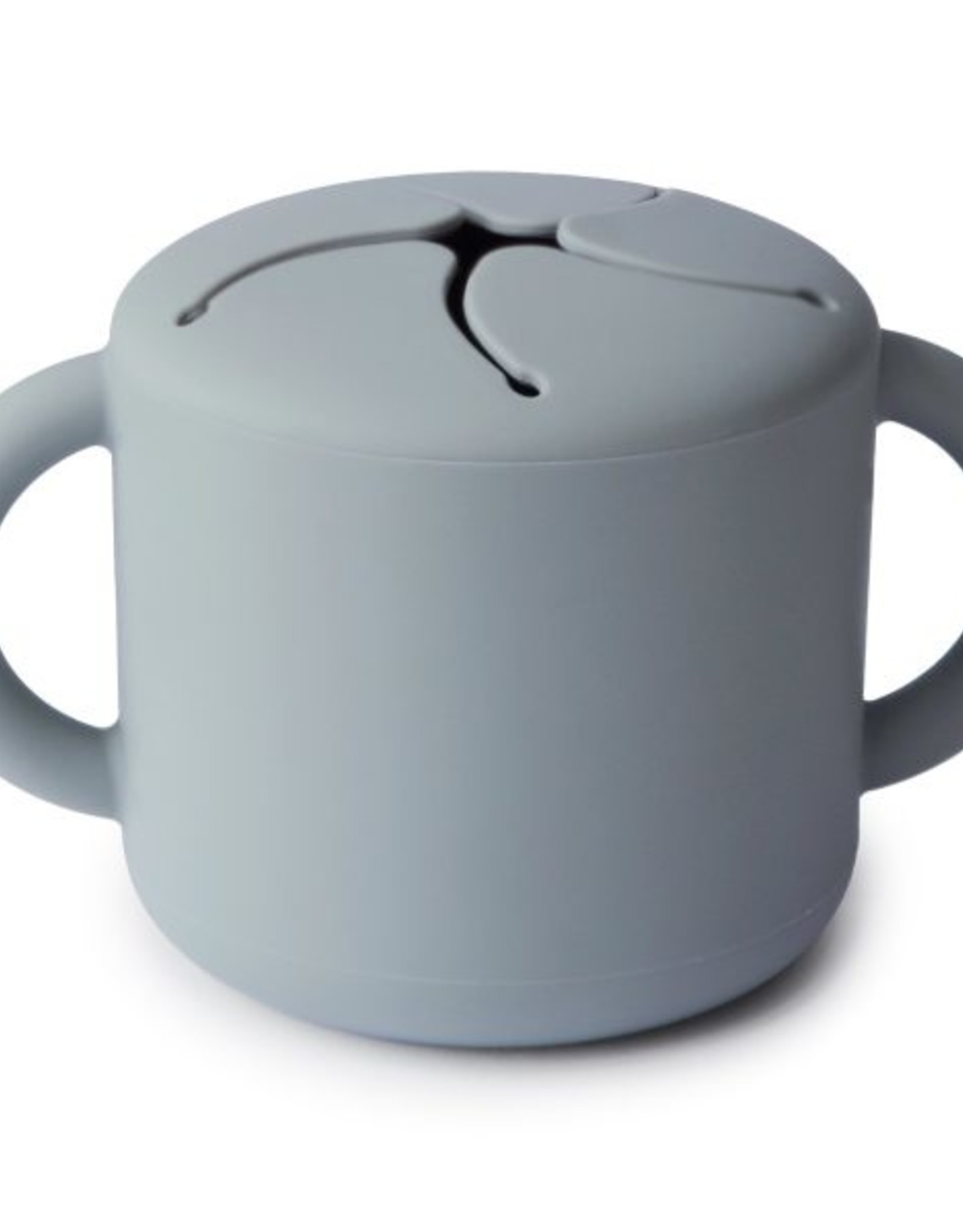Mushie snack cup- stone