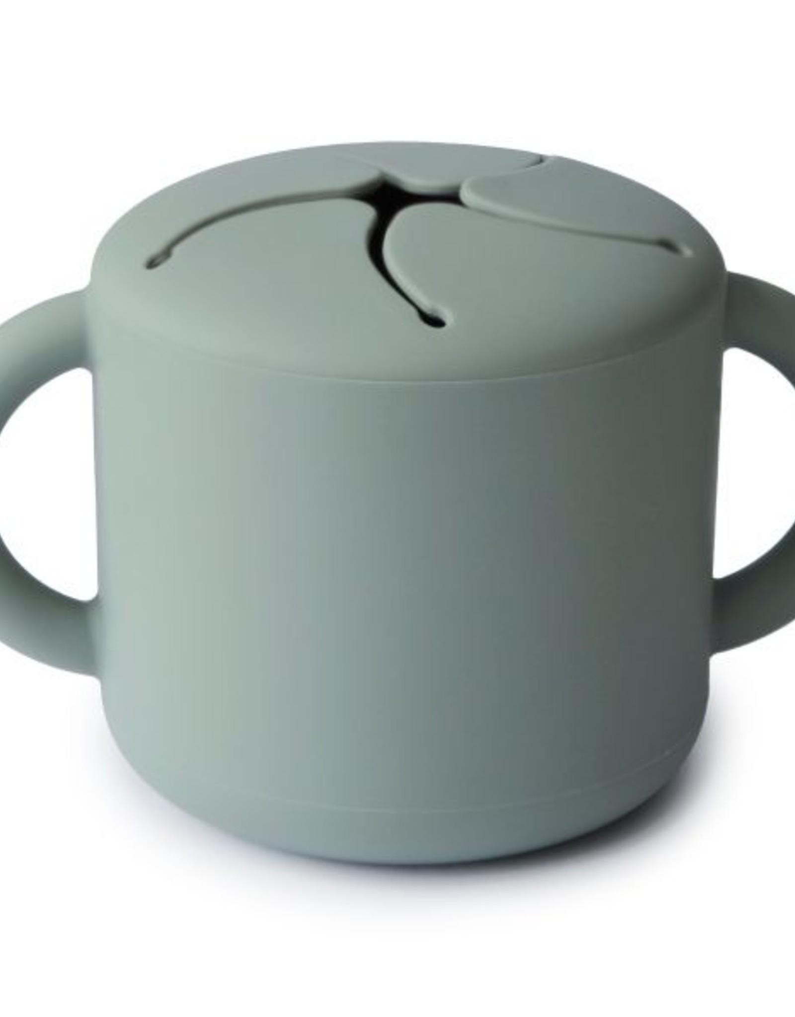 Mushie snack cup- camridge blue