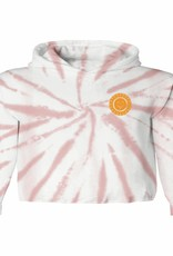 Tiny Whales ray of sunshine hooded tee