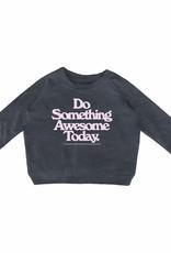 Tiny Whales something awesome sweatshirt