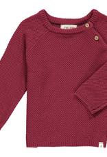 Me & Henry roan sweater- wine