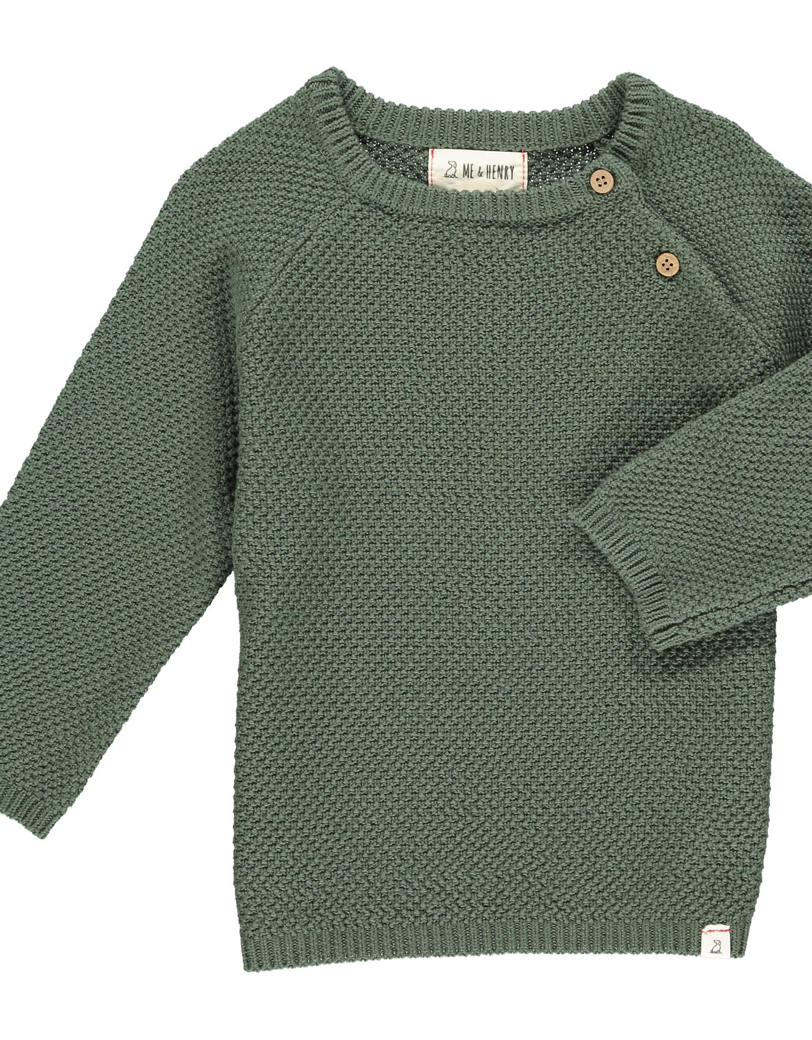 Me & Henry roan sweater- green