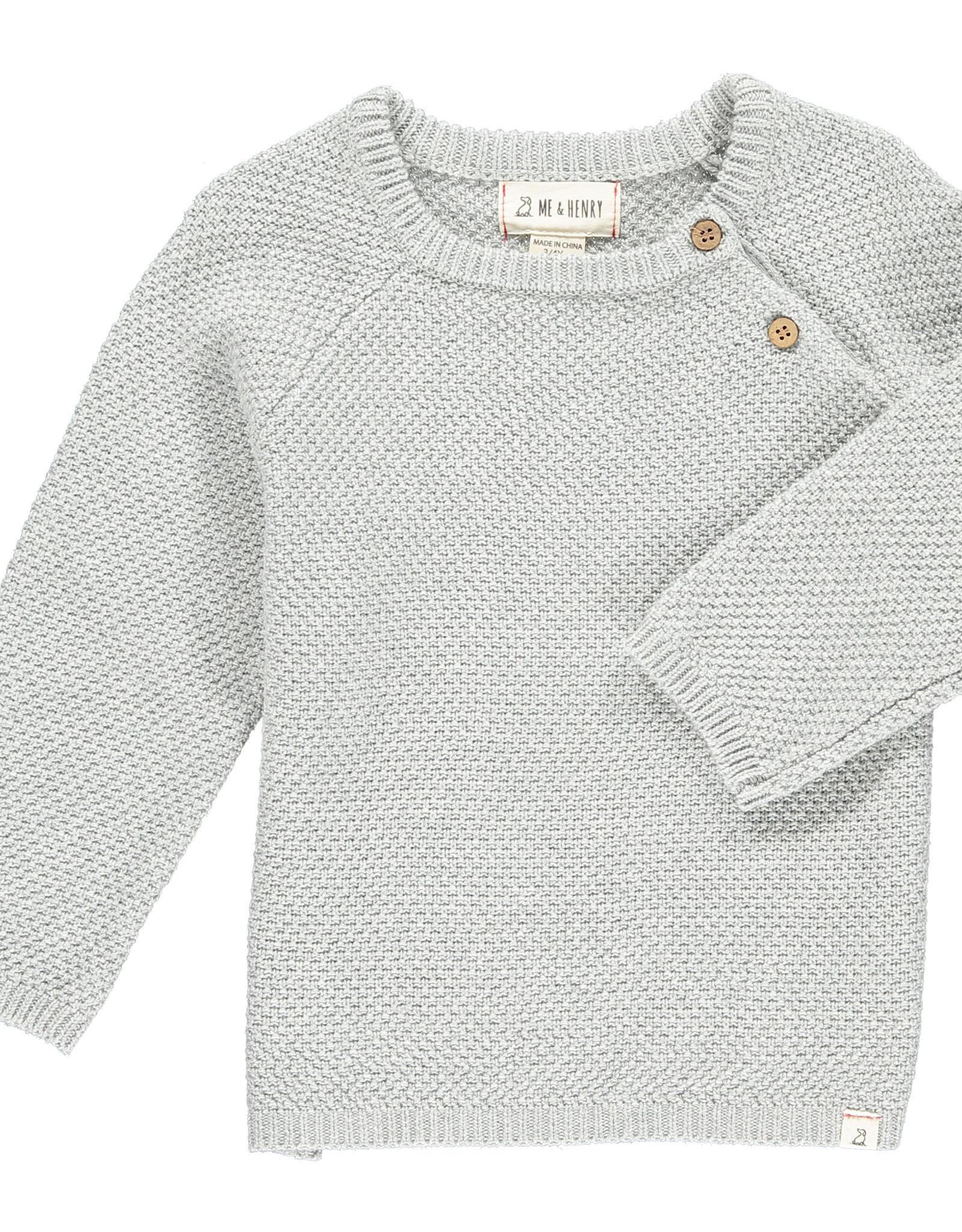 Me & Henry roan sweater- grey