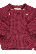 Me & Henry morrison sweater- wine