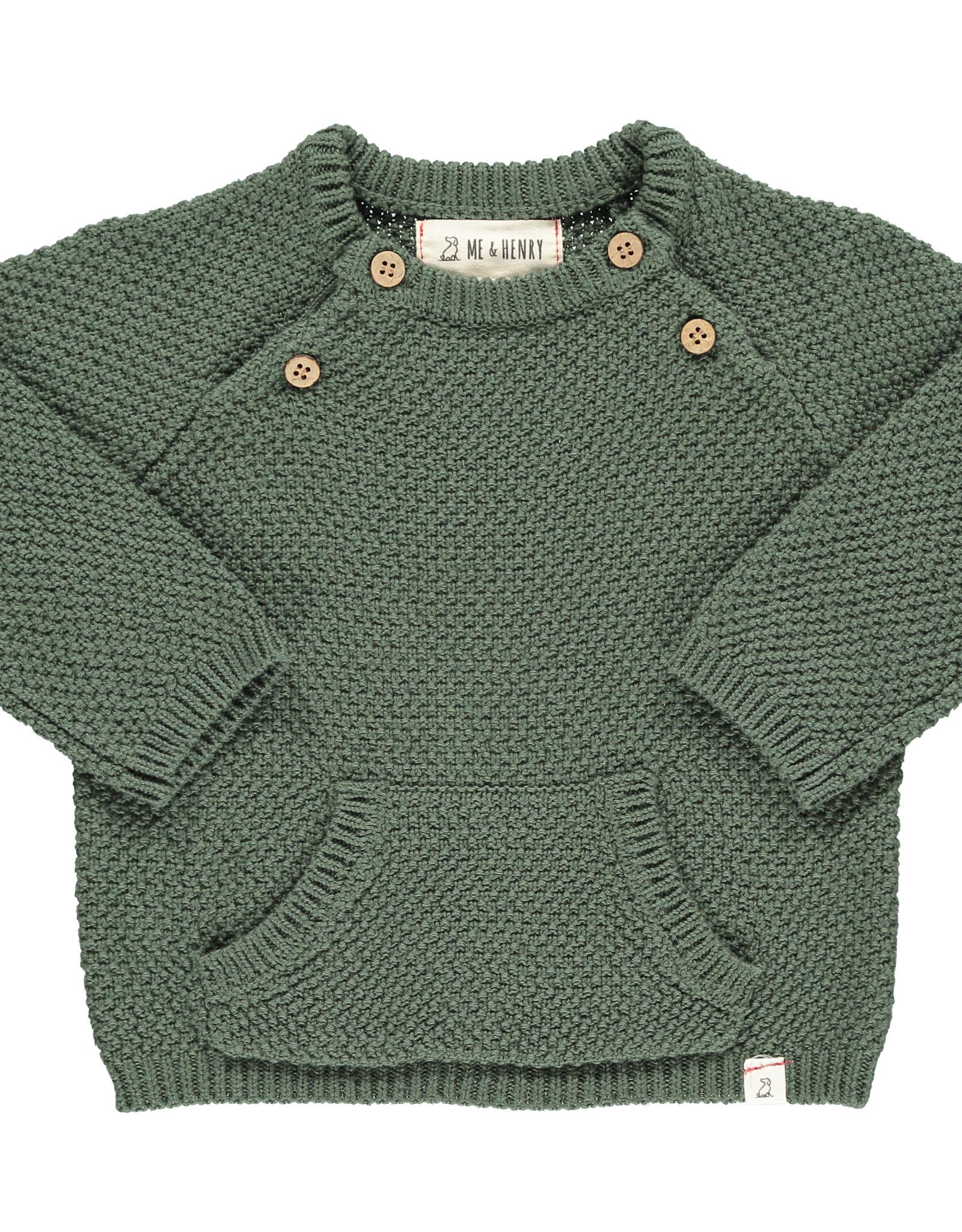 Me & Henry morrison sweater- green