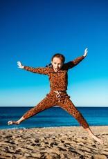 Munster Kids amber crew- leopard