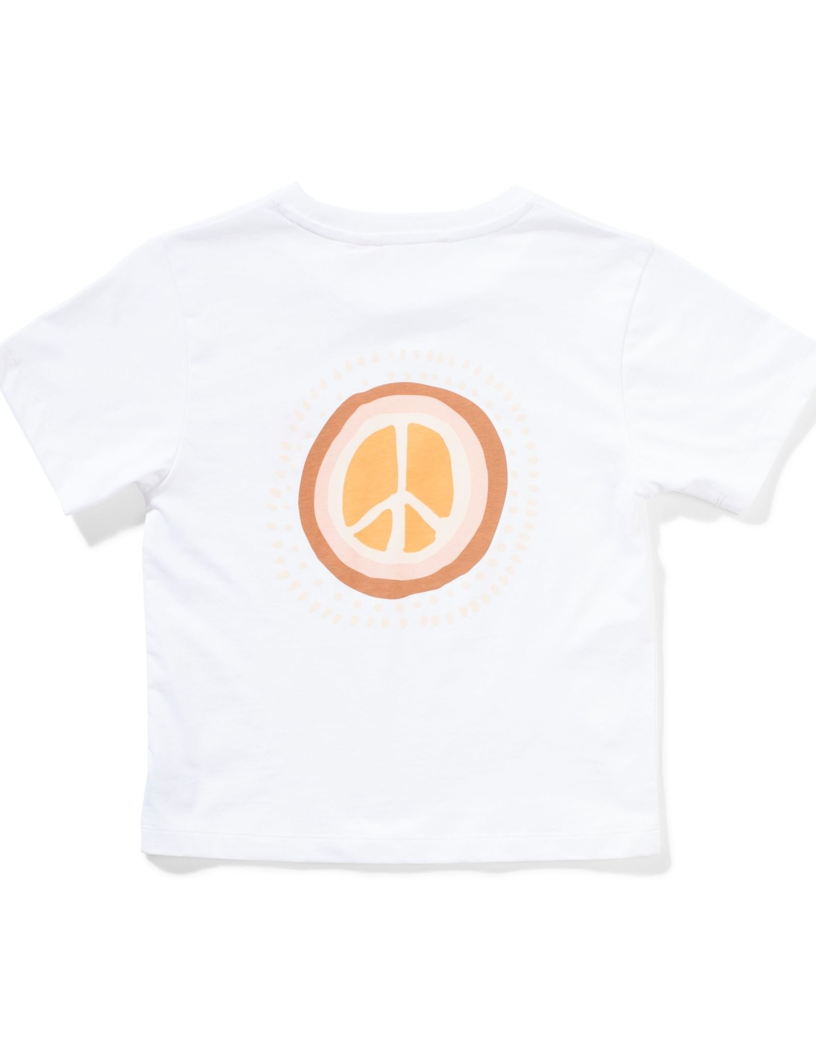 Munster Kids peace tee- white