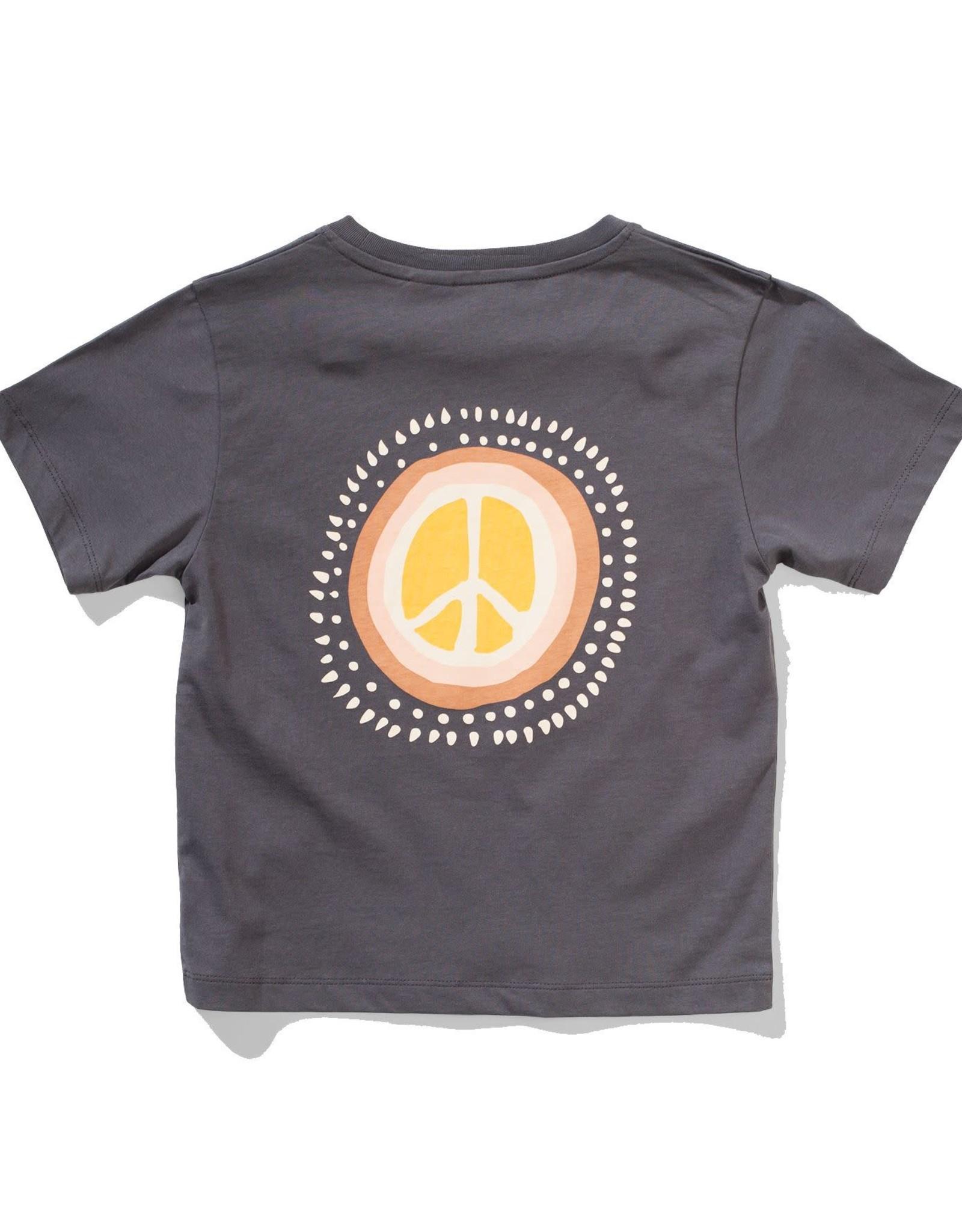 Munster Kids peace tee- black