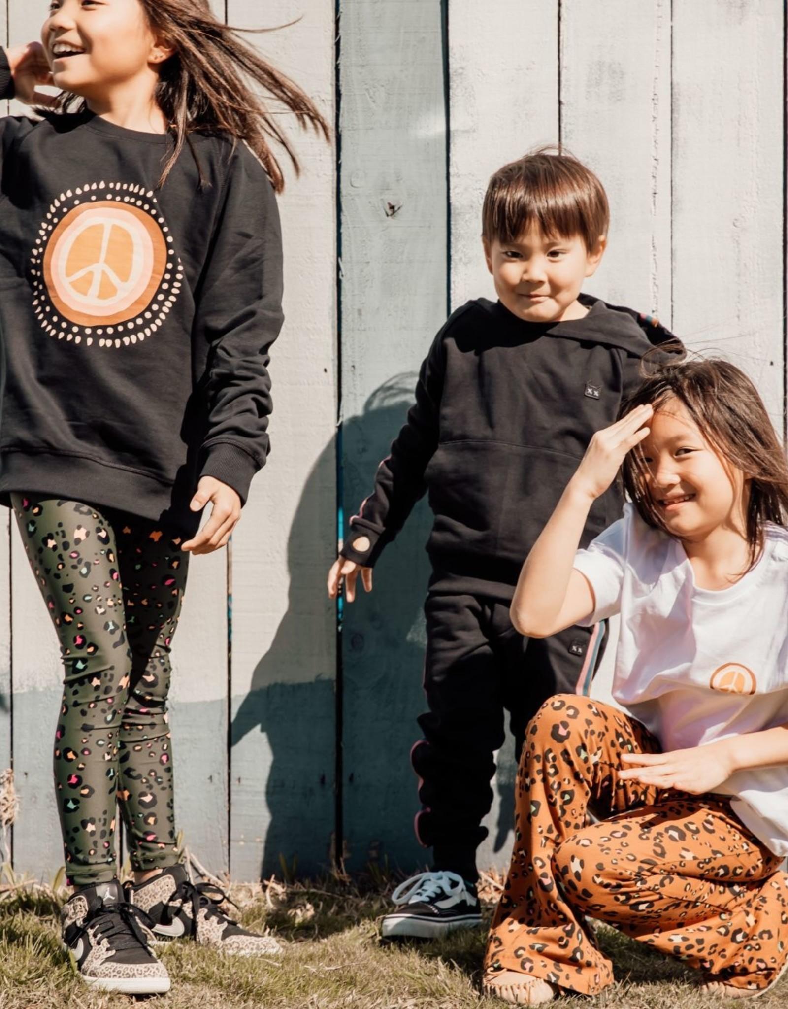 Munster Kids olive leo leggings