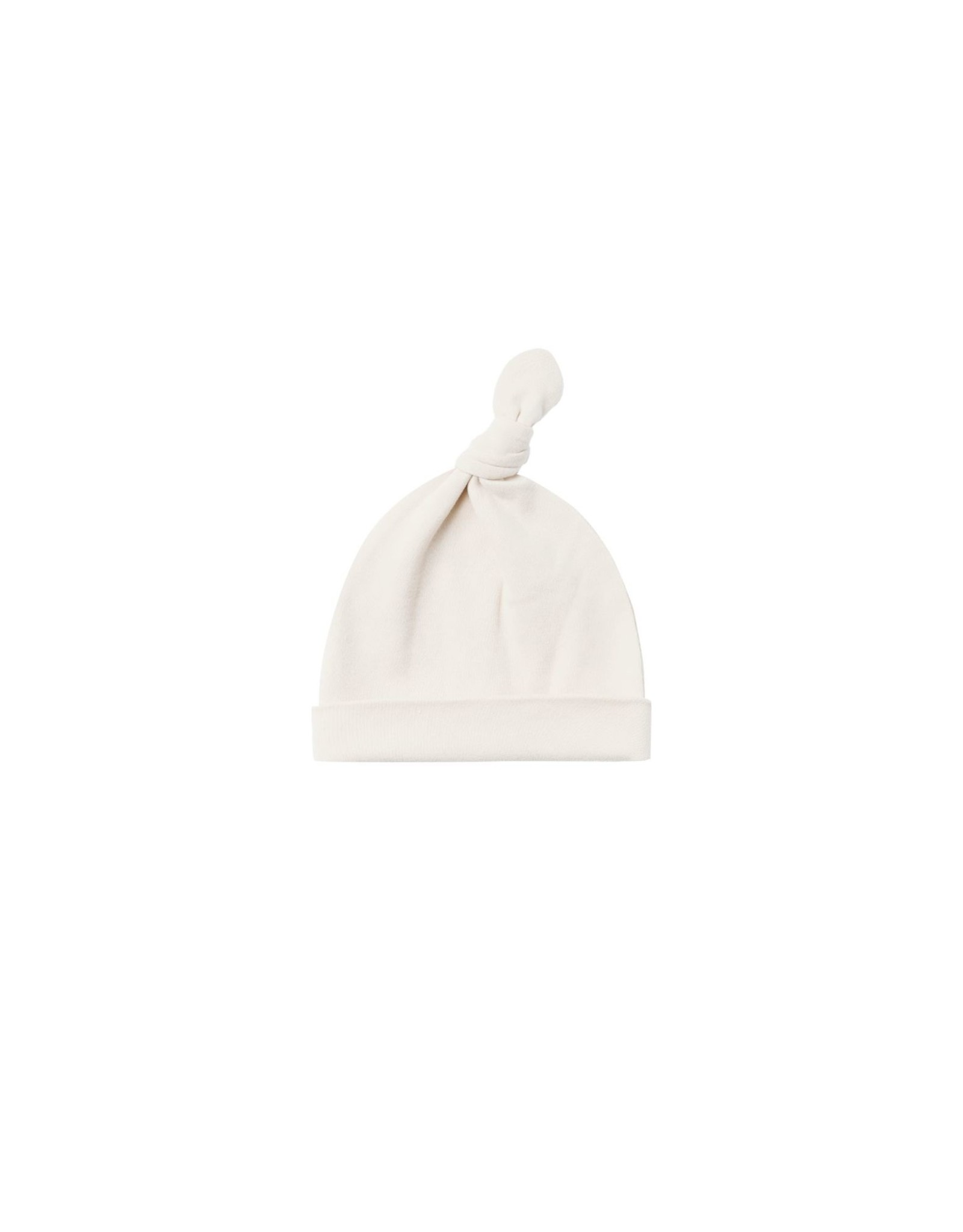 Quincy Mae knotted hat- ivory