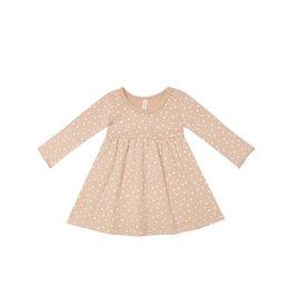 Quincy Mae ls dress- petal dots