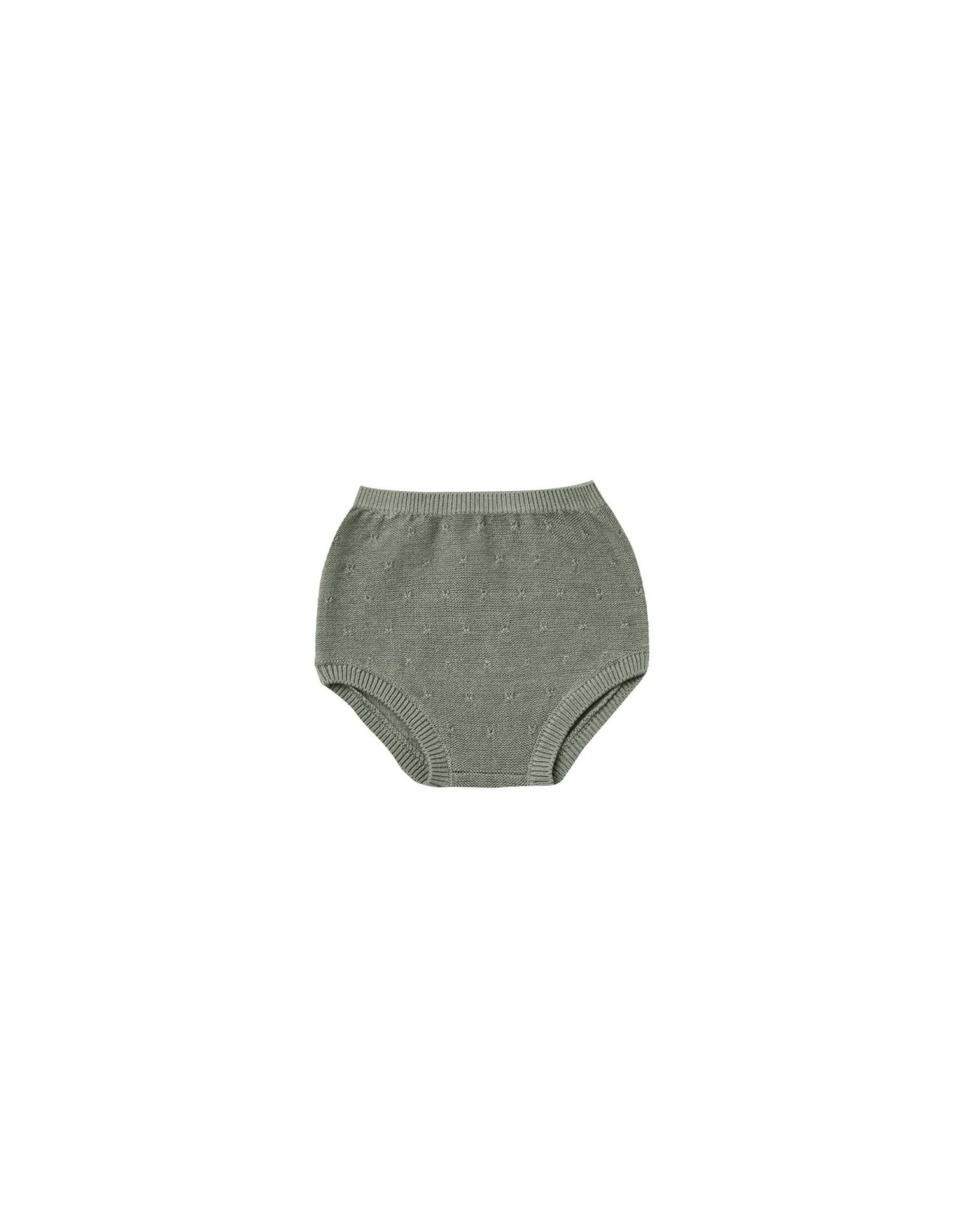 Quincy Mae knit bloomers- basil