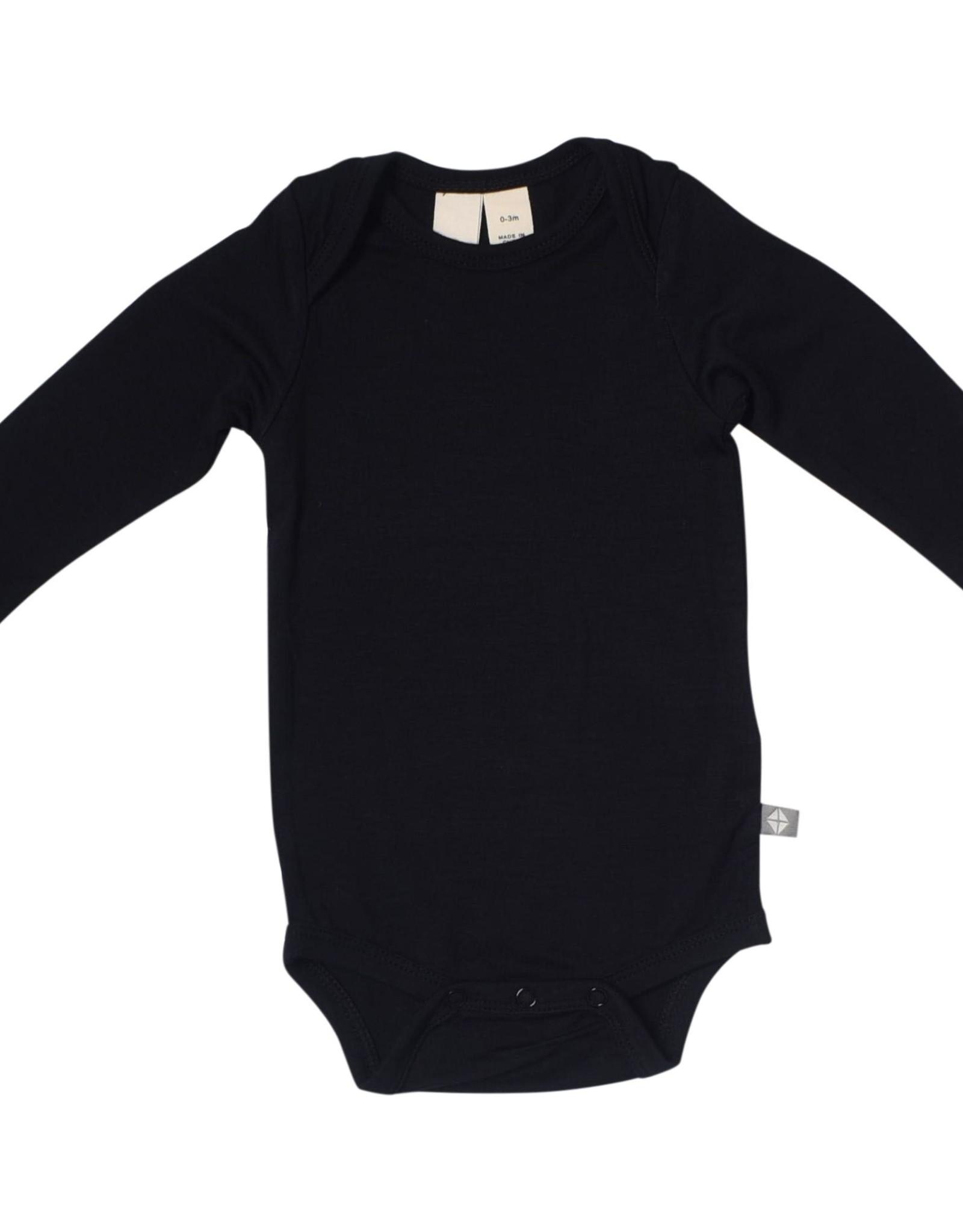 Kyte Baby l/s bodysuit- midnight