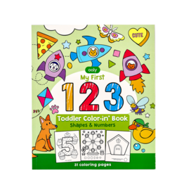 OOLY 123 color-in' book