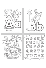 OOLY ABC color-in' book