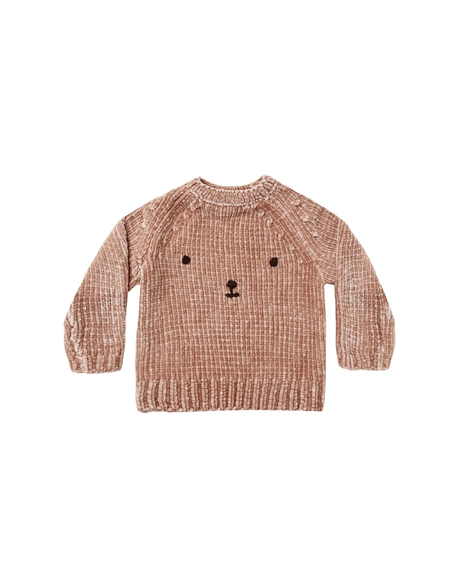 Rylee and Cru chenille sweater- bear
