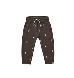 Rylee and Cru jogger pant- lightening bolts