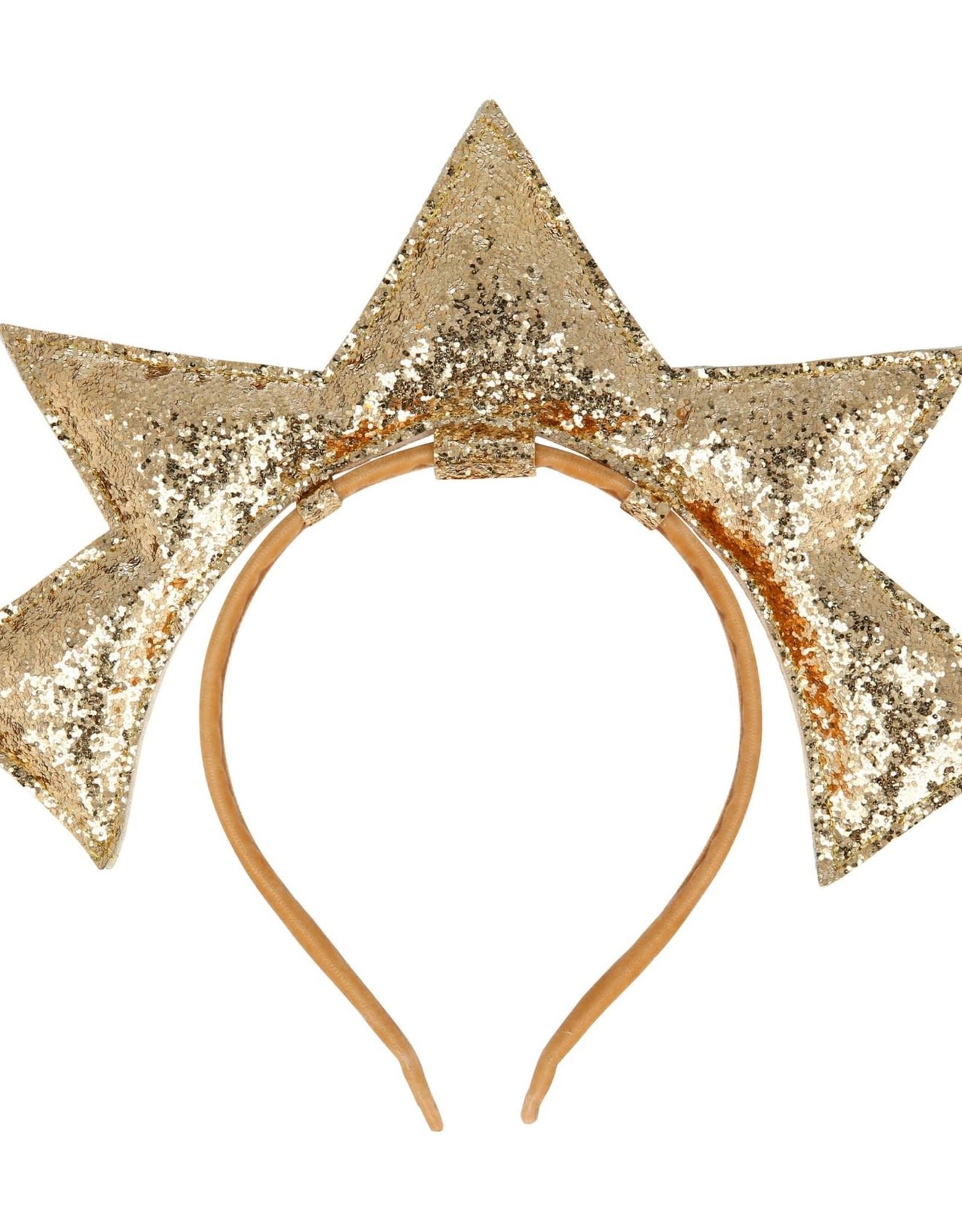 Meri Meri gold puffy star hb