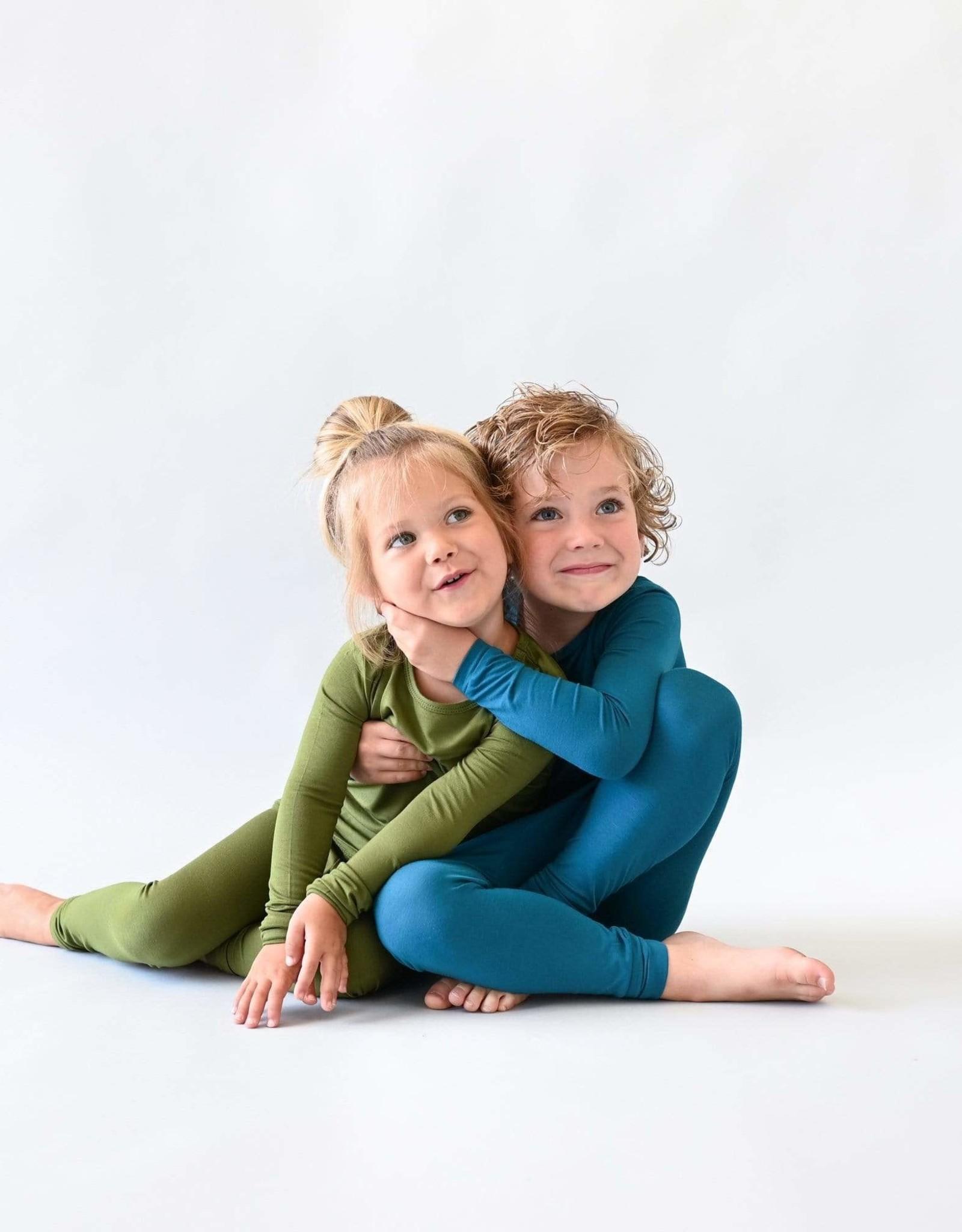 Kyte Baby pajama set- olive