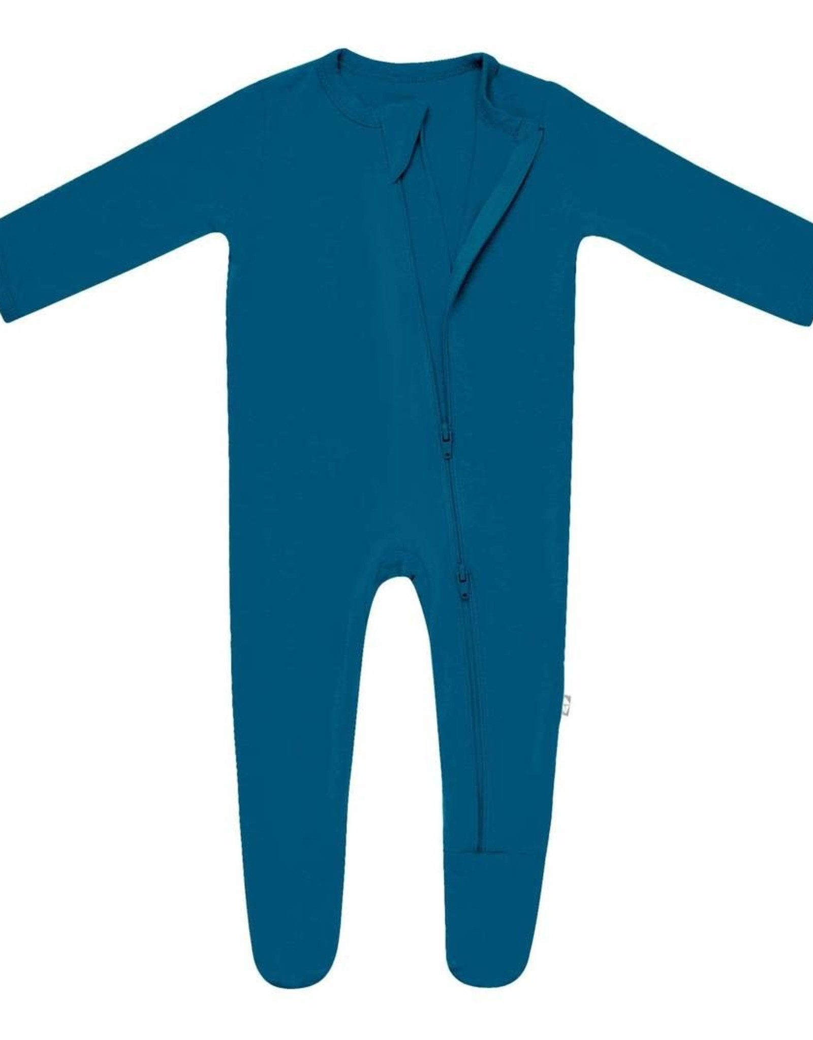 Kyte Baby zippered footie- baltic