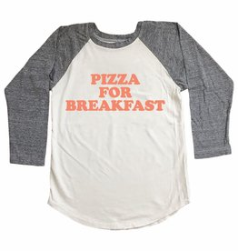 Tiny Whales pizza for breakfast raglan