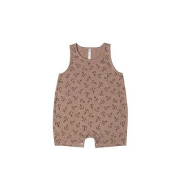 Rylee and Cru anchor romper- cocoa