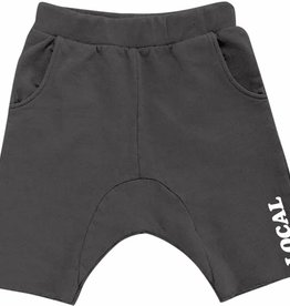 Tiny Whales baby cozy time shorts- black