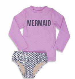 Shade Critters magic mermaid rashguard set