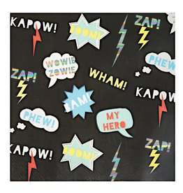 Meri Meri superhero napkins large