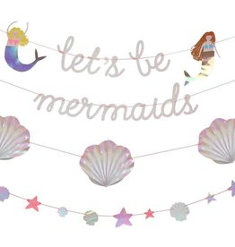Meri Meri let's be mermaids garland