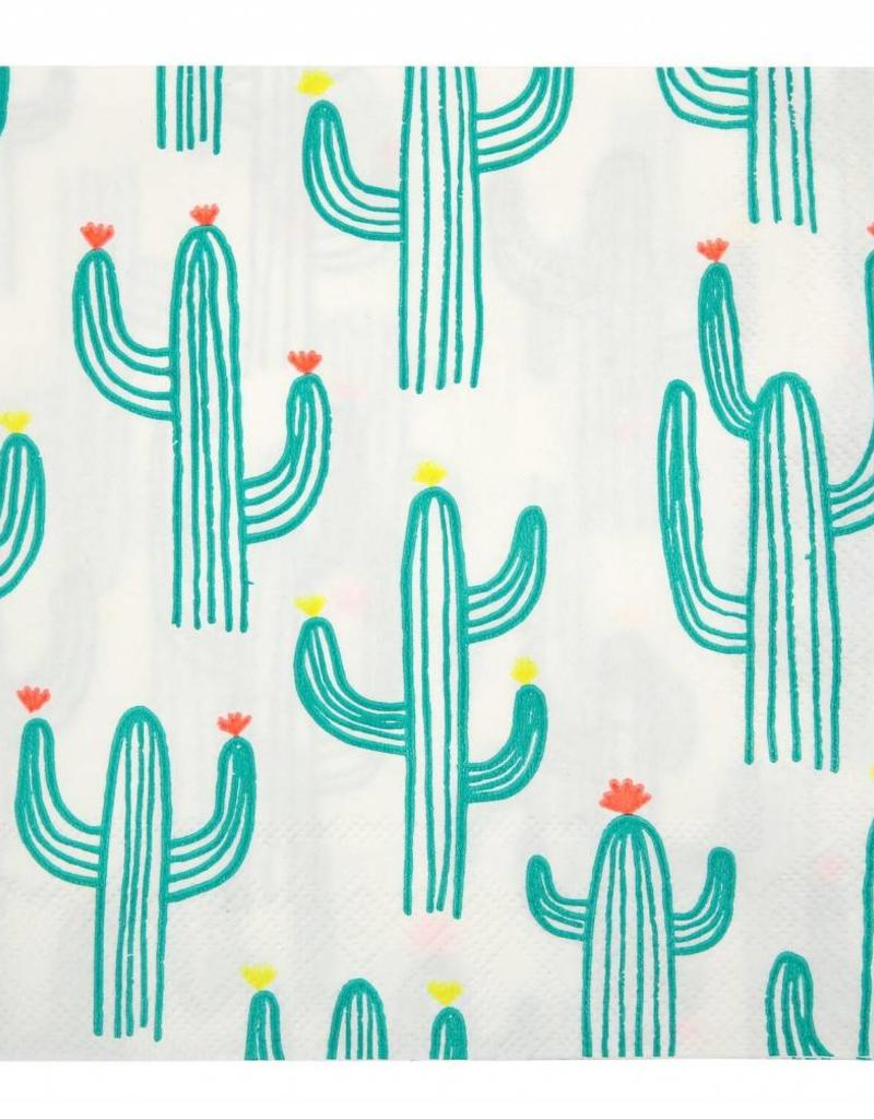 Meri Meri cactus napkins large