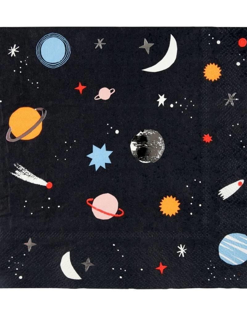 Meri Meri space napkins large