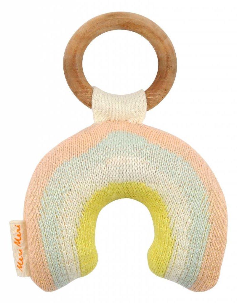 Meri Meri rainbow rattle