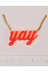 Meri Meri yay necklace